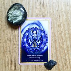 Today's card is LABRADORITE (INDIVIDUALITY) from the beautiful Crystal Mandala Oracle deck from Alana Fairchild.  This card says that there are as many ways to live your life in service to love, light and power as there are stars in the sky. Even more! What matters more than whether another understands your lifestyle and choice is whether the choices you make reflect your own personal values. Read more on the blog #cardreading #cardaday #crystals #labradorite