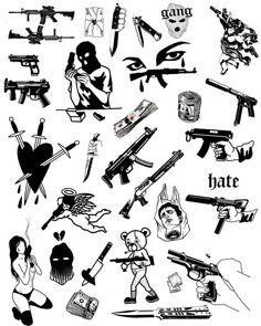 Art collection💥 on I Mini Tattoos, Body Art Tattoos, Small Tattoos, Sleeve Tattoos, Tattoos For Guys, Arabic Tattoos, Kritzelei Tattoo, Grunge Tattoo, Doodle Tattoo