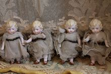 Factory German Bisque Angels, how cute are these....