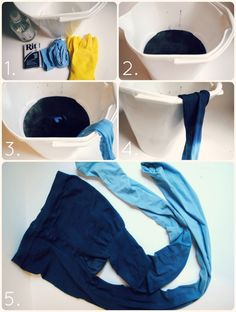 Such a great and easy to make ombre tights!!! Will be trying soon!!!!