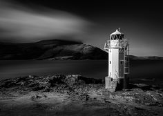 Rhue Lighthouse by Dave Bowman