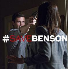 Law & Order SVU Season 15 premiere #SAVEBENSON