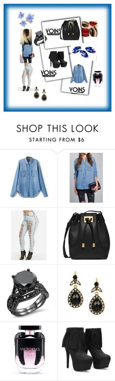 """""""cool gril"""" by kivericdamira ❤ liked on Polyvore featuring Michael Kors, Victoria's Secret and yoins"""
