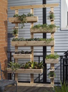 DIY Blumenwand - Do It Yourself - Ideen