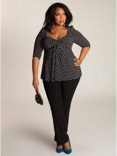 Agnessa Plus Size Top