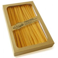 Rigorous selection of raw material, production systems above those of craft pasta factories, and product's guarantee of uniqueness are the essential secrets of La Pasta di Aldo in Monte San Giusto; an out-and-out jewel to store in any real gourmet's cupboard. www.dolceterra.it  #Pappardelle #Pasta #Aldo