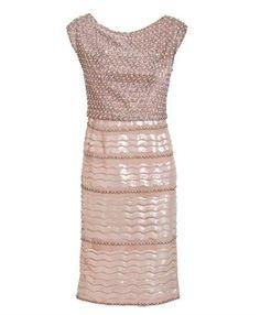 WILLIAMVINTAGE  Christian Dior encrusted cocktail dress