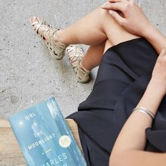 The sun's out. It's time to do some outdoor reading. #nyc #summertime #summerreading