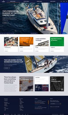 Contest Yachts on Behance