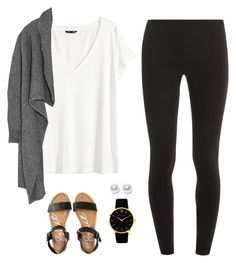 """""""Untitled #140"""" by wlong430 ❤ liked on Polyvore featuring Splendid, H&M, Aéropostale, Love Moschino, Larsson & Jennings and Nouv-Elle"""
