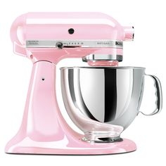 KitchenAid KSM150PSPK Komen Foundation Artisan Series 5-Quart Mixer, Pink $291.48