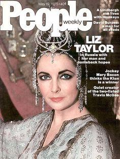classic Hollywood movie magazine cover   Elizabeth Taylor Magazine Cover