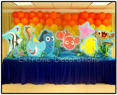 Finding Nemo Tablescape