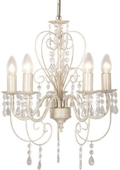 1000 Ideas About Shabby Chic Chandelier On Pinterest
