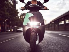 Gogoro's sleek but pricey Smartscooter is the launch vehicle for Berlin's latest scooter sharing service.