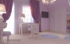 Детская комната - Дизайн проект интерьера частного дома в Tachlovice (Прага – Запад) под ключ. Интерьер в классическом стиле. Дизайнер – Инна Войтенко. Строительные, отделочные, монтажные работы – компания ISDesign group s.r.o. Cottage, Curtains, Projects, Home Decor, Log Projects, Blinds, Blue Prints, Decoration Home, Room Decor