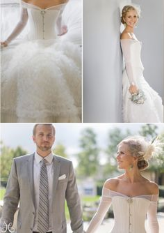 Never thought to have sleeves on my dress, but this just opened my eyes. So pretty for a fall wedding!