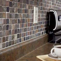 Installing backsplash tile