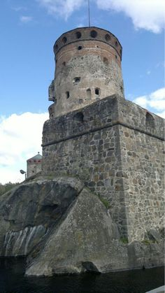 The medieval castle Olavinlinna in Savonlinna, Finland. Once on the border between Russia and Sweden. (photo AN)