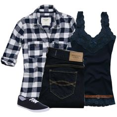 REQUESTED: Hollister Co/Abercrombie & Fitch Set:), created by ilovepiink on Polyvore