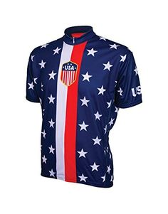 Retro 1956 USA Mens Cycling Jersey Bike Bicycle *** You can find out more details at the link of the image.
