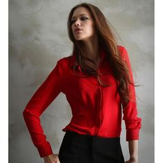 Women Blouses Button 5 Solid Color  New Long-sleeve Shirt Female Chiffon blouse Women's Slim Clothing