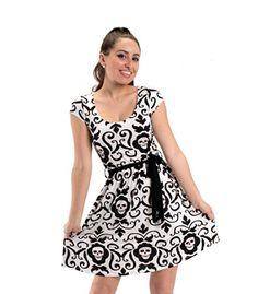 Folter Endangered Dress Skull Tapestry Print Womens Sizes: XL Folter http://smile.amazon.com/dp/B00J18IPWM/ref=cm_sw_r_pi_dp_lg8Ltb1HMKF4WV8W