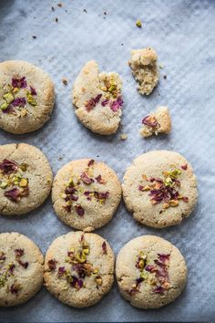 8 Ingredient #Vegan #Cardamom And #Rose #Cookies - Cook Republic #vegan #glutenfree #cookies #foodstyling #foodphotography