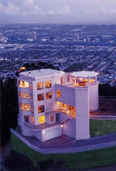 This Los Angeles residence has been called the safest home in the world. It comes with two panic rooms, two safe cores, extensive surveillance and an emergency helicopter landing pad.