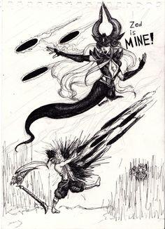 Zed is MINE! by nikospapaki