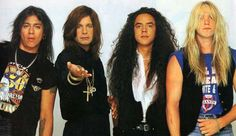 Ozzy Osbourne, Zakk Wylde, Mike Inez and Randy Castillo, 1991