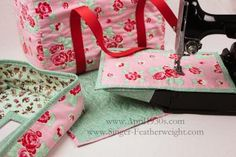 Pattern for Singer Featherweight Case
