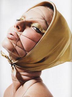Mario Sorrenti - Photographer  Carine Roitfeld - Fashion Editor/Stylist  Luigi Murenu - Hair Stylist  Aaron de Mey - Makeup Artist  Eniko Mihalik - Model
