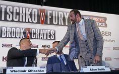 Weltmeister Wladimir Klitschko hat sich beim Training verletzt. Der Kampf gegen Tyson Fury ist vorerst geplatzt. Nach einem Ausweichdatum wird gesucht.