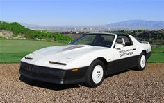 1983 Pontiac Firebird Trans Am Daytona 500 Pace Car Edition