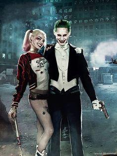 Joker and his Harley