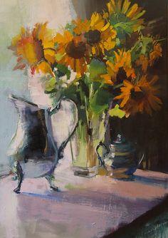 Sun Infused Grace by Ann Watcher Oil ~ 32 x 22