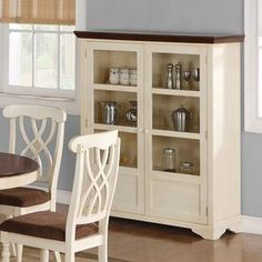 Wildon Home  Stephens Curio Cabinet