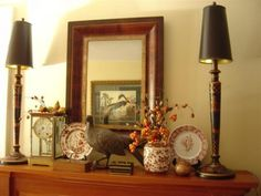 Decorating your Fireplace Mantle for Autumn Inspiration