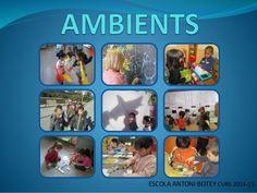 Presentació ambients claustre Reggio Emilia, Special Needs, Classroom Management, Ideas Para, Activities For Kids, Preschool, Mobiles, Children, School