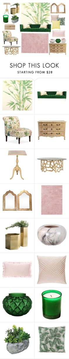 """""""Untitled #27"""" by sarashic-7 ❤ liked on Polyvore featuring interior, interiors, interior design, home, home decor, interior decorating, Cole & Son, Arteriors, Ted Baker and Minimal"""