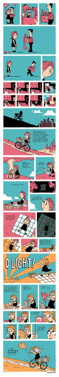 ZEN PENCILS » 141. ALBERT CAMUS: The middle of winter
