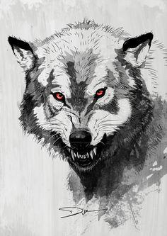 Résultats de recherche d'images pour « tatoo loup »