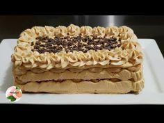 POSTRE DE VAINILLAS SIN HORNO 🎄 RECETA NAVIDEÑA - YouTube Tiramisu, Waffles, Bread, Breakfast, Ethnic Recipes, Desserts, Youtube, Food, Big