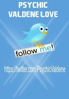 Follow Psychic Valdene Love on Twitter
