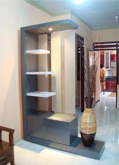 Amazing design of the partition beautiful space - Homemidi Living Room Partition Design, Living Room Divider, Room Partition Designs, Interior Design Living Room, Living Room Designs, Luxurious Bedrooms, Ceiling Design, House Rooms, Ikea