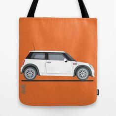 Mini Cooper Tote Bag by Aimee Liwag - $22.00