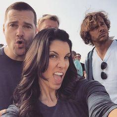 Daniela Ruah Page Liked · February 5 ·    Set life #NCISLA