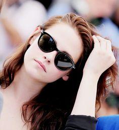 Kristen Stewart in Persol sunglasses