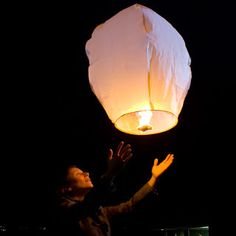Reason Why I'm Broke: Sky Lanterns Mini Hot Air Balloons